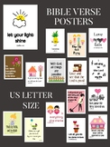 Bible Verse Posters about life, love, music, house and family