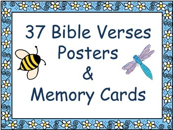 Bible Verse Posters and Memory Cards