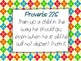 Bible Verse Posters on Education, Life, Love and Everything Else