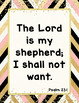 Bible Verse Posters to Encourage and Inspire {36 Chic & Glam Signs, Print Font}