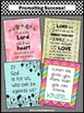 Bible Verse Quotes Set of 4 Posters Inspirational Religion
