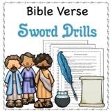 Bible Verse Sword Drills for the New Testament, No Prep En
