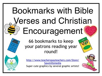 Bible Verse and Christian Encouragement Bookmarks - Good Character, Too!