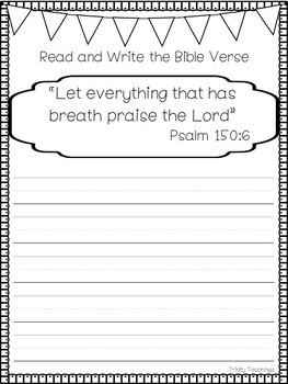 graphic relating to Printable Bible Study known as Bible Verse of the 7 days-Psalm 150:6 Printable Bible Analysis Curriculum.