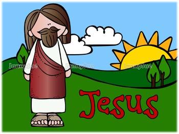 Bible Verse teaching posters- Jesus Heals Me Acts 9:34