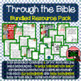 Bible Verses, Background Info, and Student Response Sheets