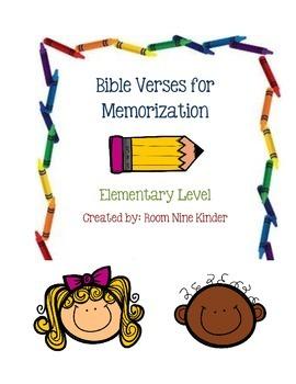 Bible Verses Memorization Cards