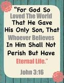 Bible Verses To Remember (Growing Bundle)