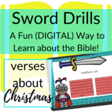 Bible Verses about Christmas DIGITAL Sword Drills | BOOM CARDS