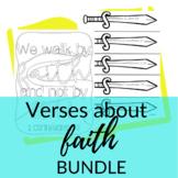 Bible Verses about Faith BUNDLE