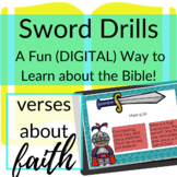 Bible Verses about Faith DIGITAL Sword Drills | BOOM CARDS