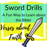 Bible Verses about Faith Printable Sword Drills