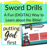 Bible Verses about Putting God First DIGITAL Sword Drills