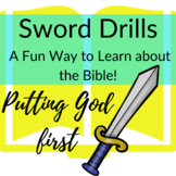 Bible Verses about Putting God First Printable Sword Drills