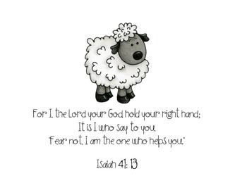 Bible Verses for the Classroom- animal theme