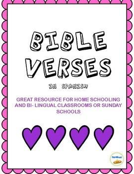 Bible Verses in Spanish