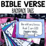 Bible Verse Backpack Tags