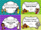 Bible and Ancient History BIG Bundle (3 Interactive Notebo