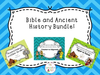 Bible and Ancient History Bundle (Interactive Notebook and Timeline)
