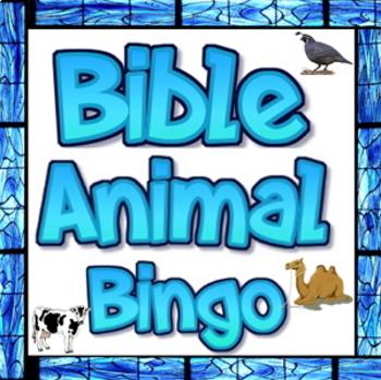 Bible animal bingo freebie