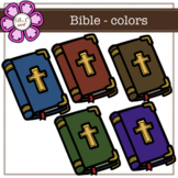 Bible - colors digital Clipart (color and black&white)