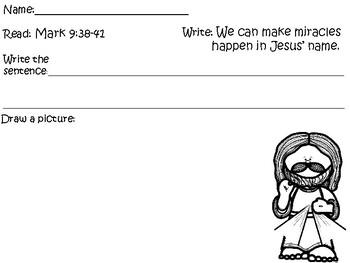 Bible for Kids Children Sunday School Homeschool Miracles in Jesus Name