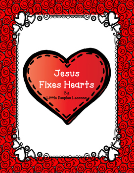BIBLE ON A BUDGET: JESUS FIXES HEARTS (an Easter lesson & art project)
