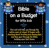 BIBLE ON A BUDGET: Once-a-week lessons, activities & art f