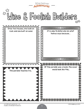 Bible Parable: The Wise & Foolish Builders
