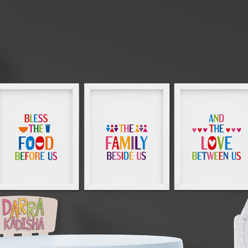 Bible Quotes Posters Bundle Christian Scriptures For Classroom Decor