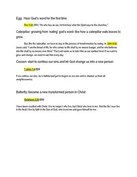 Bible 'transformation' mini Project
