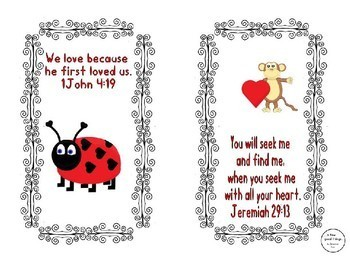 Bible verse Valentines