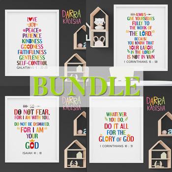 Bible verses bundle - Printable Posters