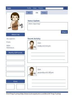Biblical Characters Social Media, Fun Bible Studies