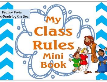 Biblical Classroom Rules Booklet