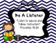 Biblical Classroom Rules Posters (Chevron Blues) - TPT Kinderbirdies
