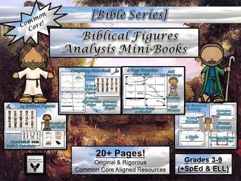 Biblical Figures Character Analysis Mini-Book Activity
