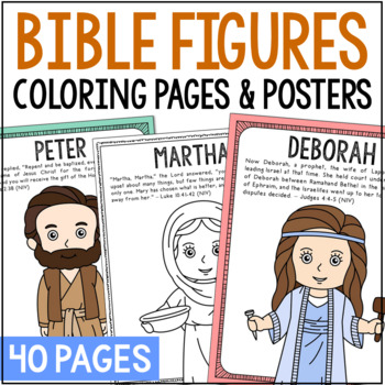 Bible Characters Worksheets & Teaching Resources | TpT