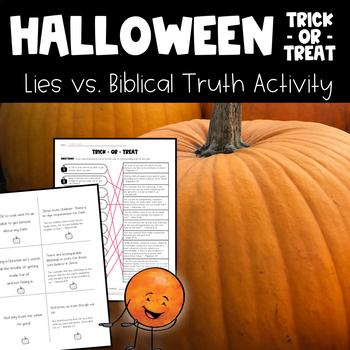 Biblical Halloween Activity