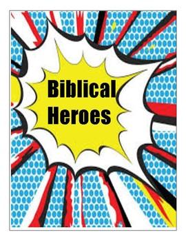 Biblical Heroes Activity