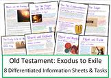 Biblical Literacy Worksheets: Exodus to Exile