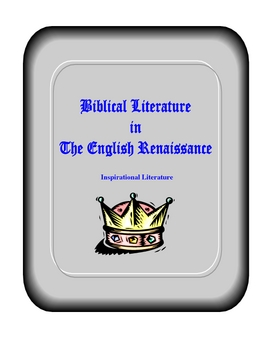 Biblical Literature in the English Renaissance