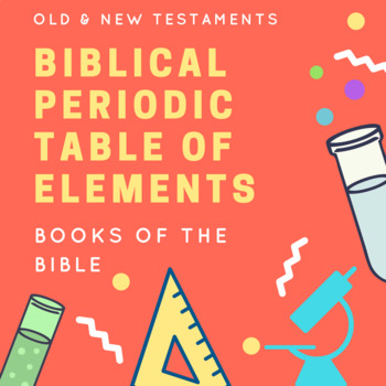 Biblical Periodic Table of Elements
