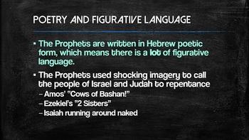 Biblical Prophets Overview Powerpoint