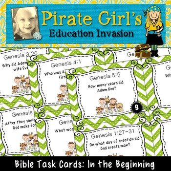 Bible Task Cards: In the Beginning