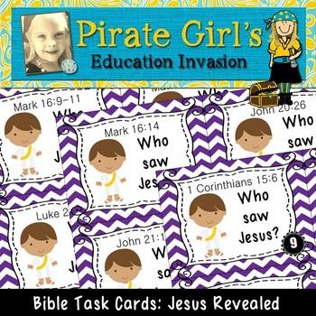 Bible Task Cards: Jesus Revealed