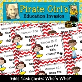 Bible Task Cards: Who's Who? (Bible Characters)