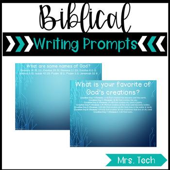Biblical Writing Prompts