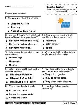 Biblioburro & Lightning Lives Assessments