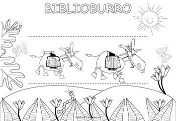 Biblioburro Pop Out Picture